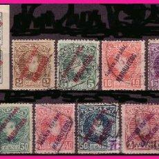 Francobolli: MARRUECOS 1903 SELLOS DE ESPAÑA, SERIE CORTA (O). Lote 9107235