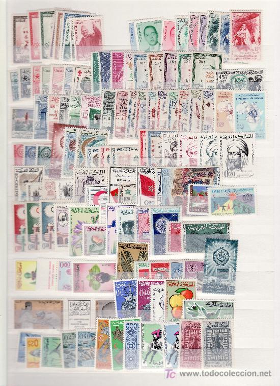 MARRUECOS SIN CHARNELA CLASIFICADOR CON 727,85 EUROS YVERT 2002 + (Sellos - Extranjero - África - Marruecos)