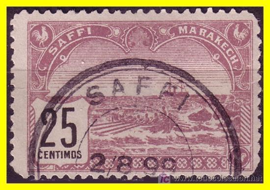MARRUECOS 1899 SAFI YVERT Nº 101 (O) (Sellos - Extranjero - África - Marruecos)