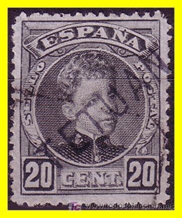 MARRUECOS 1908 SELLOS DE ESPAÑA HABILITADOS Nº 19 (O) (Sellos - Extranjero - África - Marruecos)