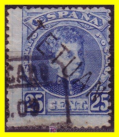MARRUECOS 1908 SELLOS DE ESPAÑA HABILITADOS Nº 20HI (O) (Sellos - Extranjero - África - Marruecos)