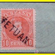 Sellos: MARRUECOS 1908 SELLOS DE ESPAÑA HABILITADOS, EDIFIL Nº 17HI (O). Lote 20249062
