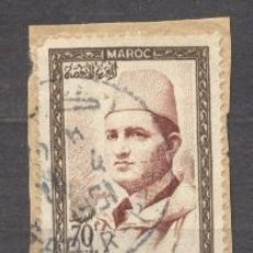 Sellos: MAROC, ROYAUME INDEPENDANT, 1956-57, Y T 368. Lote 20878622