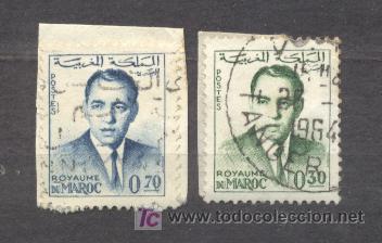 MAROC, ROYAUME INDEPENDANT, 1962-65, Y T 441 Y 443 (Sellos - Extranjero - África - Marruecos)