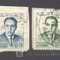 Sellos: MAROC, ROYAUME INDEPENDANT, 1962-65, Y T 441 Y 443. Lote 20878676