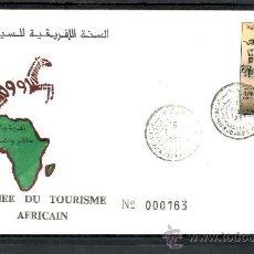 Sellos: MARRUECOS 1113 PRIMER DIA, AÑO DEL TURISMO AFRICANO, . Lote 22453477