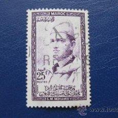 Sellos: 1956 MARRUECOS, MOHAMED V, YVERT 365. Lote 30446851