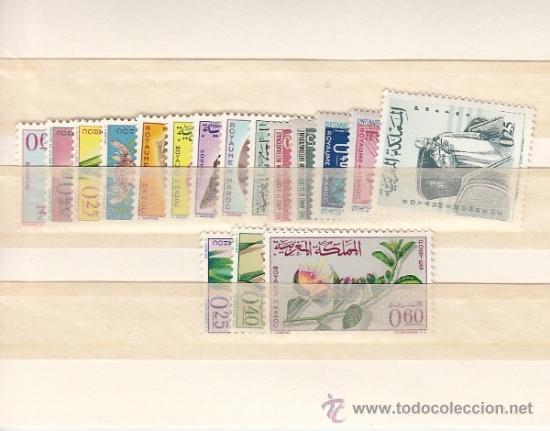 MARRUECOS 480/96 SIN CHARNELA, AÑO 1965 VALOR CAT 20.30 € + (Sellos - Extranjero - África - Marruecos)