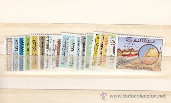 MARRUECOS 919/31, 933/35 SIN CHARNELA, AÑO 1982 VALOR CAT 15.45 €+ (Sellos - Extranjero - África - Marruecos)