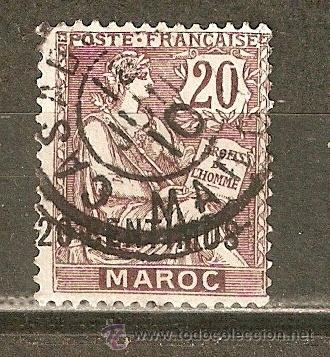MARRUECOS YVERT NUM. 13 USADO (Sellos - Extranjero - África - Marruecos)