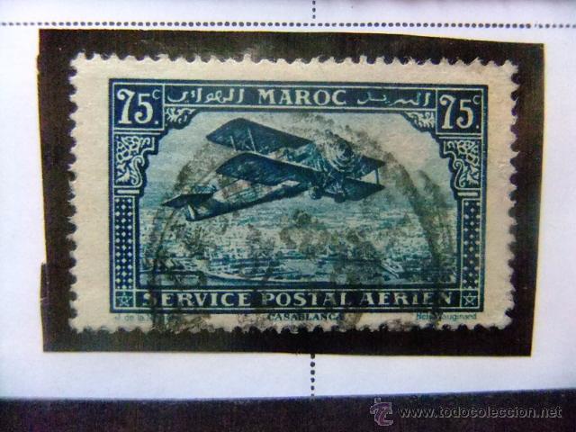 MARRUECOS MAROC 1922 YVERT Nº PA 4 º FU (Sellos - Extranjero - África - Marruecos)