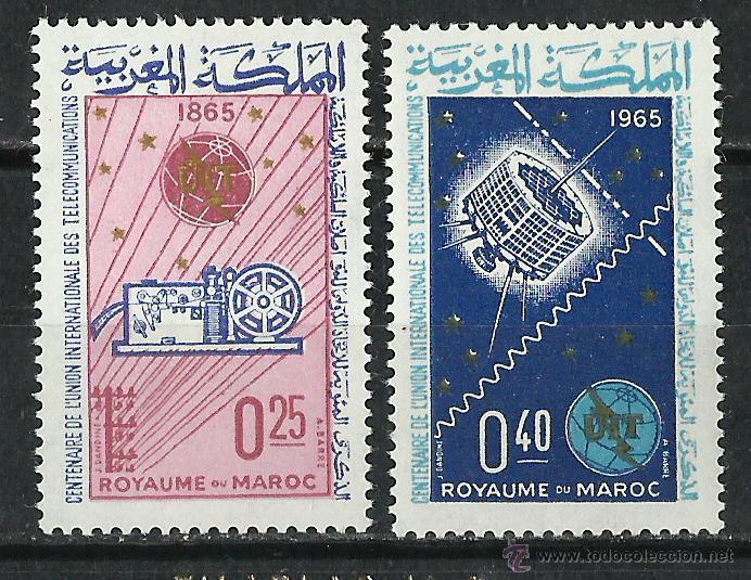 MARRUECOS - 1965 - SCOTT 119/120** MNH (Sellos - Extranjero - África - Marruecos)