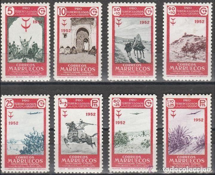 MARRUECOS. 1952. PRO- TUBERCULOSIS. SERIE . **. MNH. (Sellos - Extranjero - África - Marruecos)