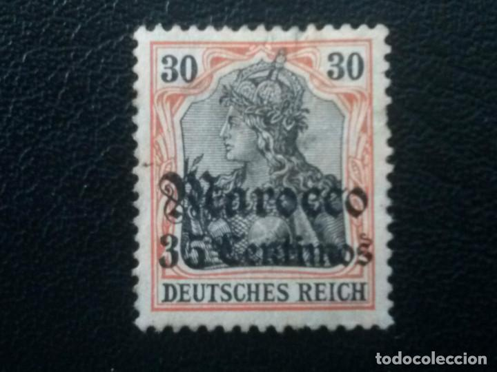 MARRUECOS ALEMÁN, YVERT Nº 38 , 1905-11 (Sellos - Extranjero - África - Marruecos)
