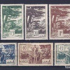 Sellos: MARRUECOS. LOTE DE 6 SELLOS. 1939.. Lote 98553403
