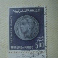 Sellos: MARRUECOS 1969. CORREO AÉREO. YVERT PA118.USADO. . Lote 122158027