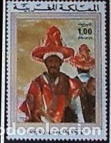 YVERT 725. GOMA ORIGINAL. PINTURAS (Sellos - Extranjero - África - Marruecos)