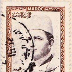 Sellos: 1956 - MARRUECOS - MOHAMED V - YVERT 363. Lote 124290987