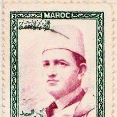 Sellos: 1956 - MARRUECOS - MOHAMED V - YVERT 364. Lote 124291051