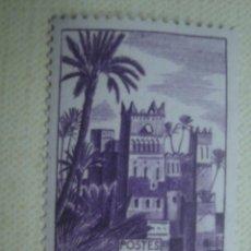 Timbres: MARRUECOS FRANCÉS 1947. YVERT 265. ALCAZABA DE UARZAZATE. NUEVO SIN CHARNELA. Lote 127589287