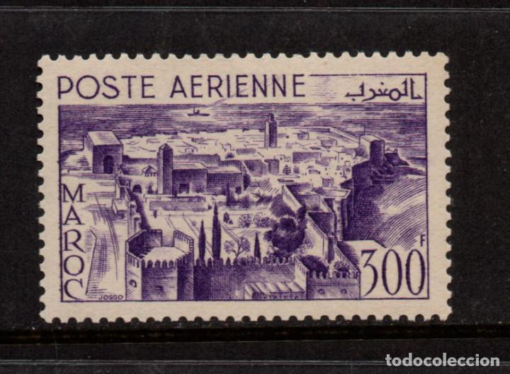 MARRUECOS AEREO 82** - AÑO 1951 - PAISAJES (Sellos - Extranjero - África - Marruecos)
