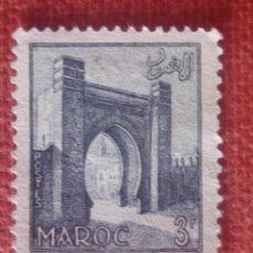 Sellos: MARRUECOS FRANCÉS 1955. BAB EL MRISSA EN SALÉ. YVERT 348. NUEVO SIN GOMA. Lote 128814831