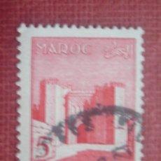 Sellos: MARRUECOS FRANCÉS 1955. BAB EL CHORFA EN FEZ. YVERT 349. USADO.. Lote 128817895