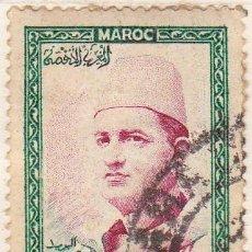 Sellos: 1956 - MARRUECOS - MOHAMED V - YVERT 364. Lote 131545718