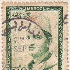 Sellos: 1956 - MARRUECOS - MOHAMED V - YVERT 366. Lote 131545858
