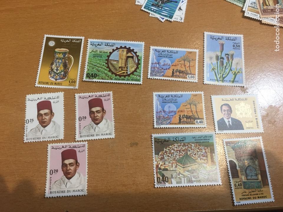 LOTE DE 11 SELLOS NUEVOS MARRUECOS (Sellos - Extranjero - África - Marruecos)