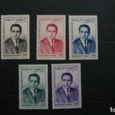 Sellos: MARRUECOS-1957-Y&T PA 106/10**(MNH). Lote 146464182