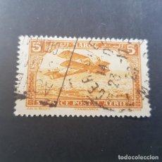 Sellos: MAROC,MARRUECOS FRANCÉS,1922-1927,BIPLANO SOBRE CASABLANCA, SCOTT C1,YVERT PA1,MAT. TANGER,(LOTE AG). Lote 156528962