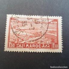 Sellos: MAROC,MARRUECOS FRANCÉS,1933 RABAT Y TORRE DE HASSAN AÉREO SCOTT C16 YVERT PA36, USADO,(LOTE AG). Lote 156537074