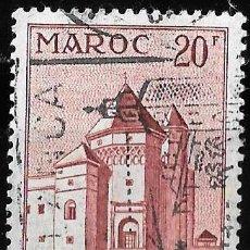 Sellos: MARRUECOS 1955. YT 356. ARQUITECTURA.. Lote 156745522
