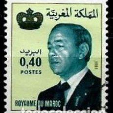 Sellos: MARRUECOS SCOTT: 512-(1981) (EL REY: HASSAN II) USADO. Lote 156760210