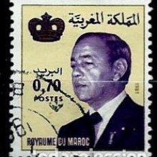 Sellos: MARRUECOS SCOTT: 516-(1981) (EL REY: HASSAN II) USADO. Lote 156760330