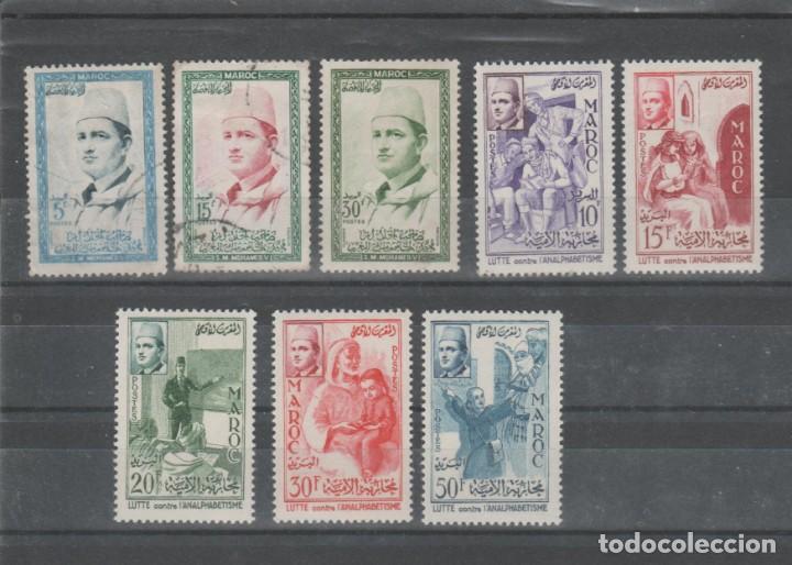 MARRUECOS, LOTE AÑOS 1956 A 1965. (Sellos - Extranjero - África - Marruecos)