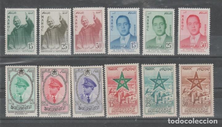 Sellos: MARRUECOS, LOTE AÑOS 1956 A 1965. - Foto 2 - 158236926