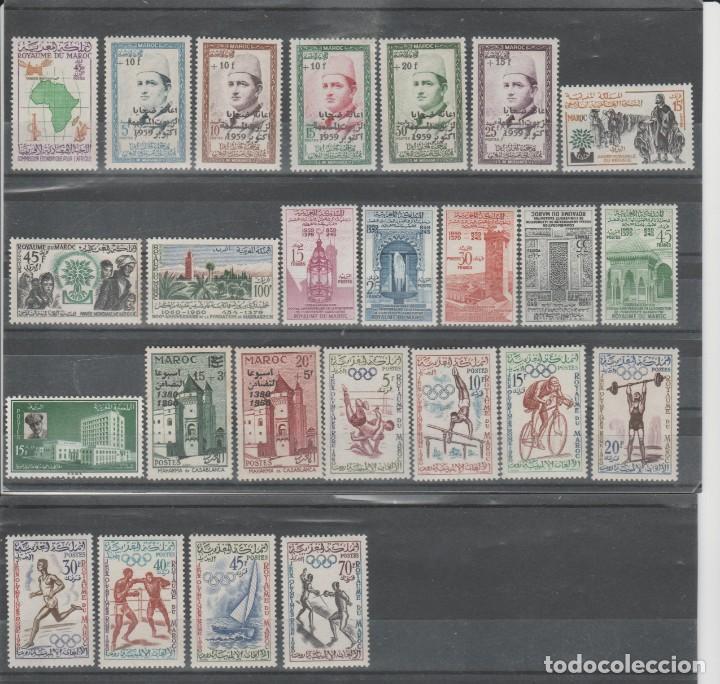 Sellos: MARRUECOS, LOTE AÑOS 1956 A 1965. - Foto 5 - 158236926