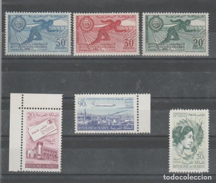 Sellos: MARRUECOS, LOTE AÑOS 1956 A 1965. - Foto 6 - 158236926