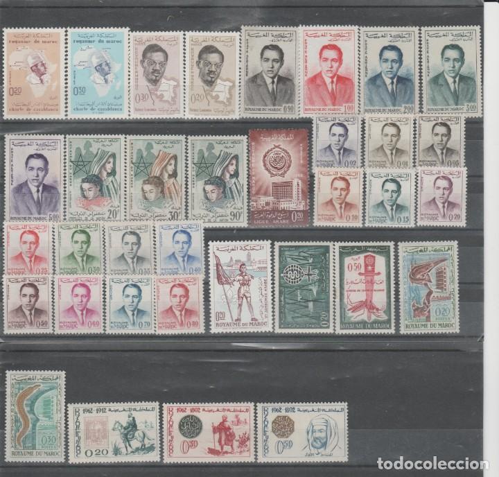 Sellos: MARRUECOS, LOTE AÑOS 1956 A 1965. - Foto 7 - 158236926
