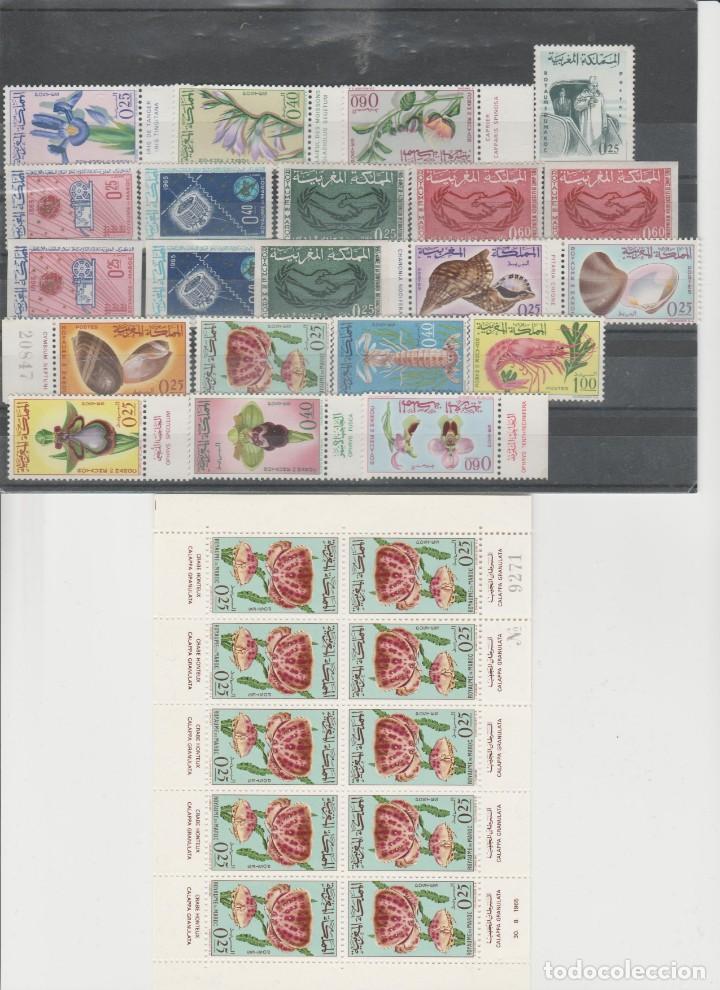 Sellos: MARRUECOS, LOTE AÑOS 1956 A 1965. - Foto 10 - 158236926