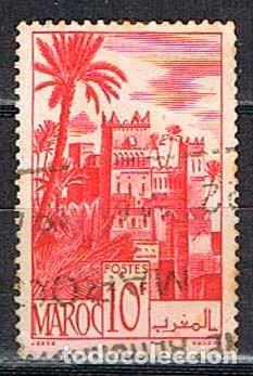 MARRUECOS (COLONIA FRANCESA) IVERT Nº 260 A - KASBAH DE UARZAZAL, USADO (Sellos - Extranjero - África - Marruecos)