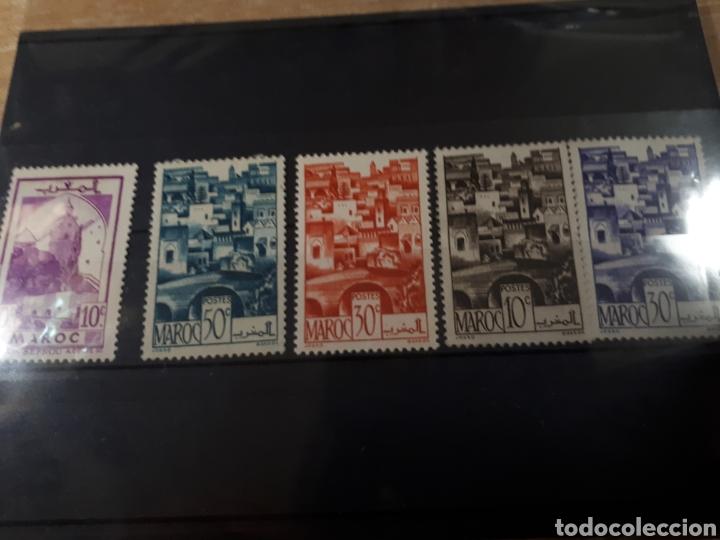 SELLOS DE MARRUECOS LOTE H37 (Sellos - Extranjero - África - Marruecos)