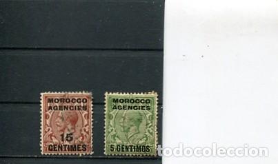 SELLOS ANTIGUOS REINO UNIDO SOBRECARGA MARRUECOS (Sellos - Extranjero - África - Marruecos)