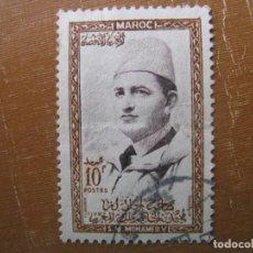 Sellos: MARRUECOS 1956, MOHAMED V, YVERT 363. Lote 187376292