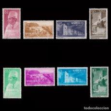 Sellos: MARRUECOS.1956.TIPOS DIVERSOS.SERIE. MNH.EDIFIL 1-8.. Lote 190815237