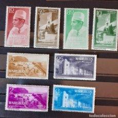 Sellos: SELLOS MARRUECOS - 1956 - ED. 1/8 - MARRUECOS REINO INDEPENDIENTE - /*/**/ COMPLETA. Lote 193438770