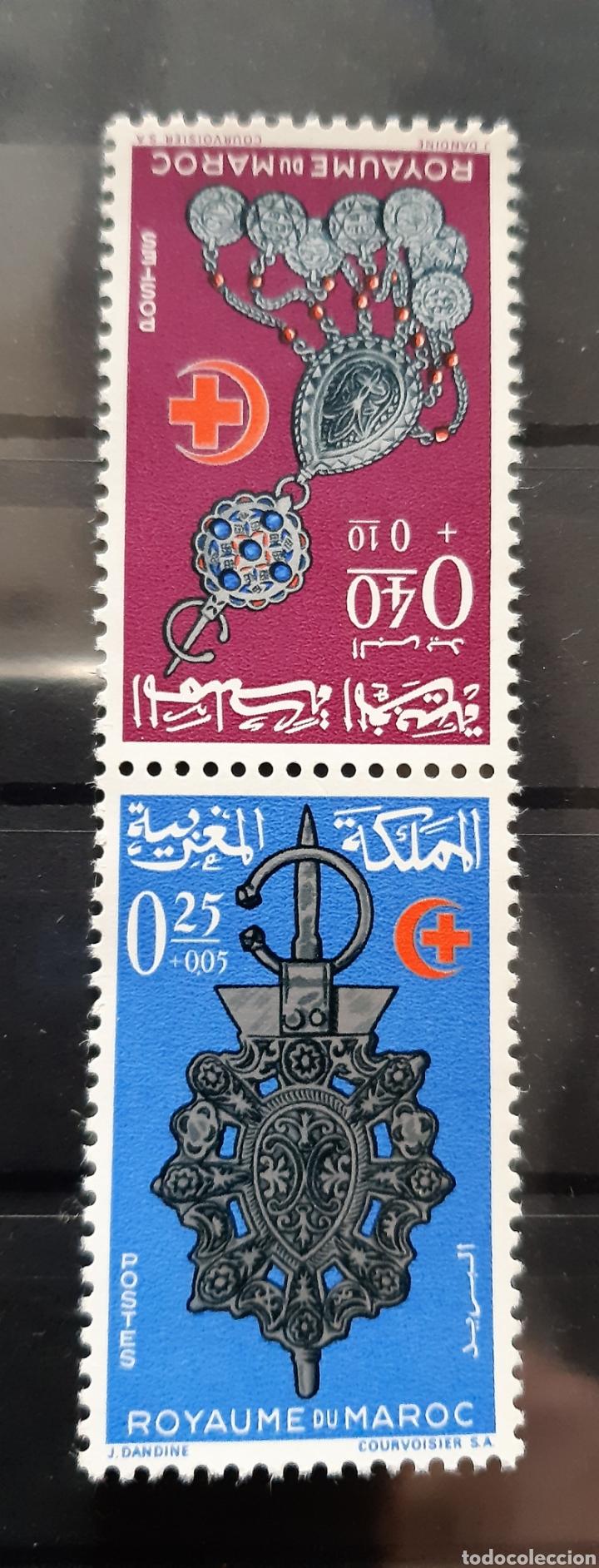MARRUECOS, 1966, YVERT 507A**, JOYAS (Sellos - Extranjero - África - Marruecos)
