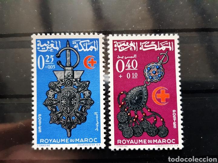 MARRUECOS, 1966, YVERT 506-507**, JOYAS (Sellos - Extranjero - África - Marruecos)